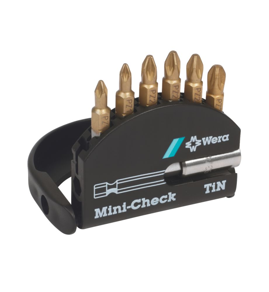 Wera Mini-Check Assorted Pozi Set 7Pc