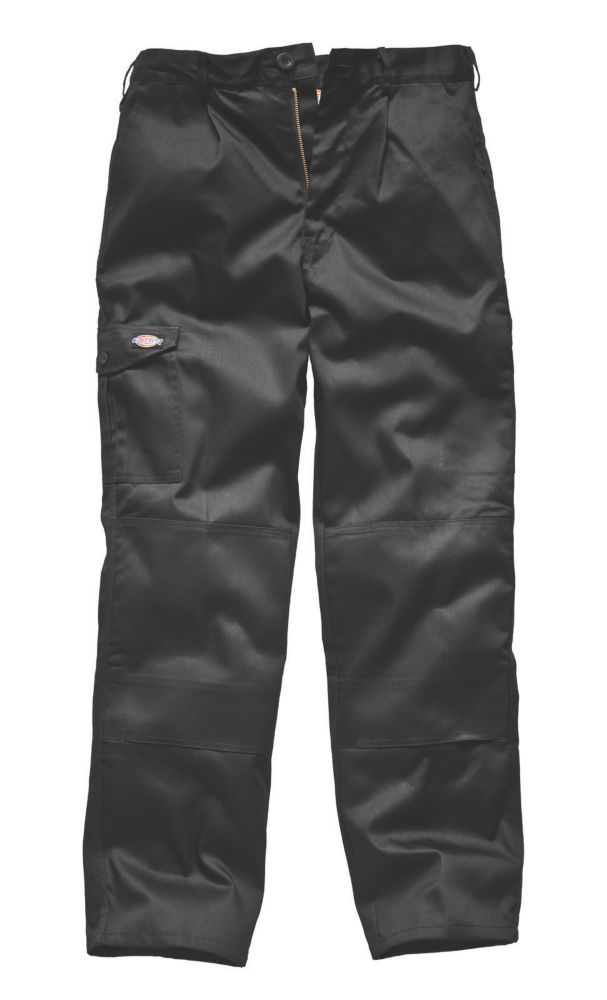 Dickies Redhawk Super Trousers Black W36 L34