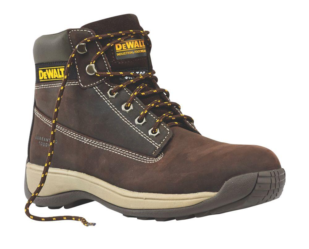 DeWalt Apprentice Safety Boots Brown Size 9