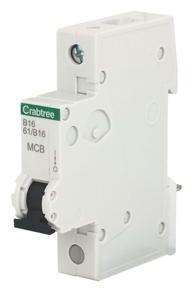 Crabtree 16A SP Type B Curve MCB