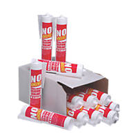 No Nonsense 11667902 General Purpose Silicone White 310ml 12 Pack