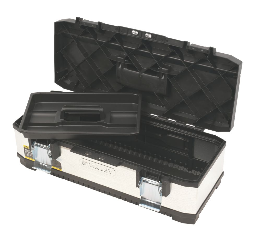 Stanley 26in Galvanized Metal Tool Box