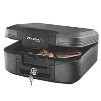 Master Lock 7.8Ltr Waterproof Fire Chest 391 x 363 x 168mm