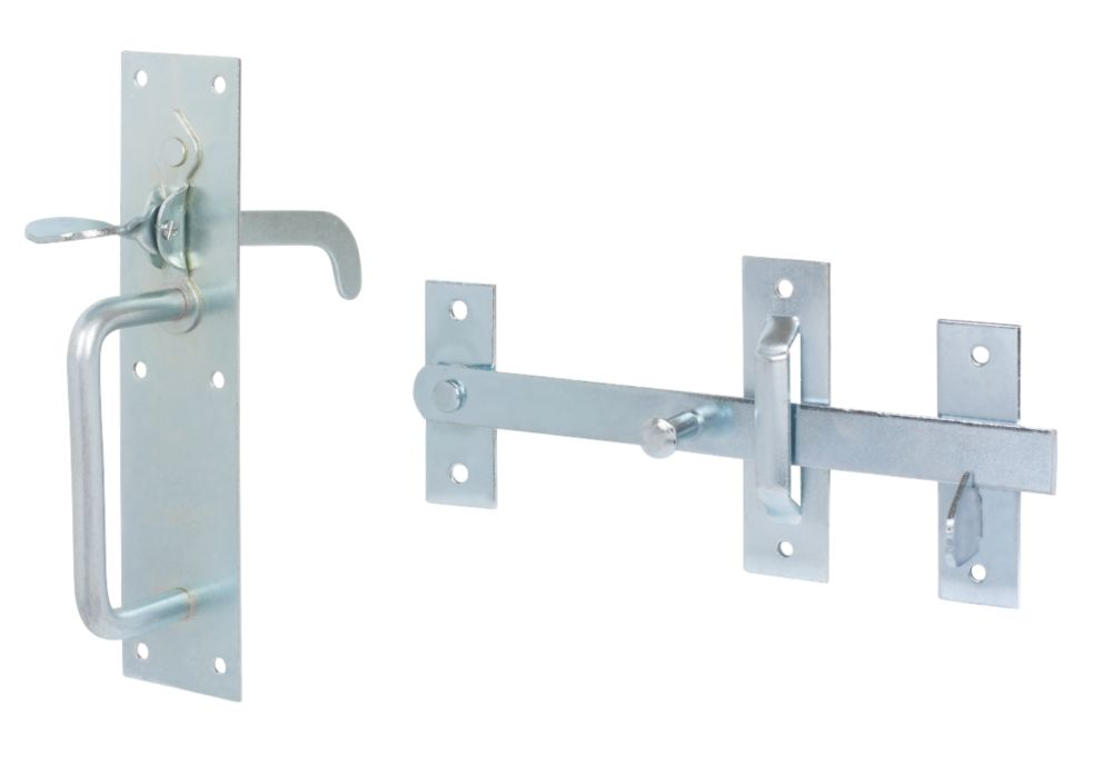 Suffolk Gate Latch Zinc Plated 180 x 45mm