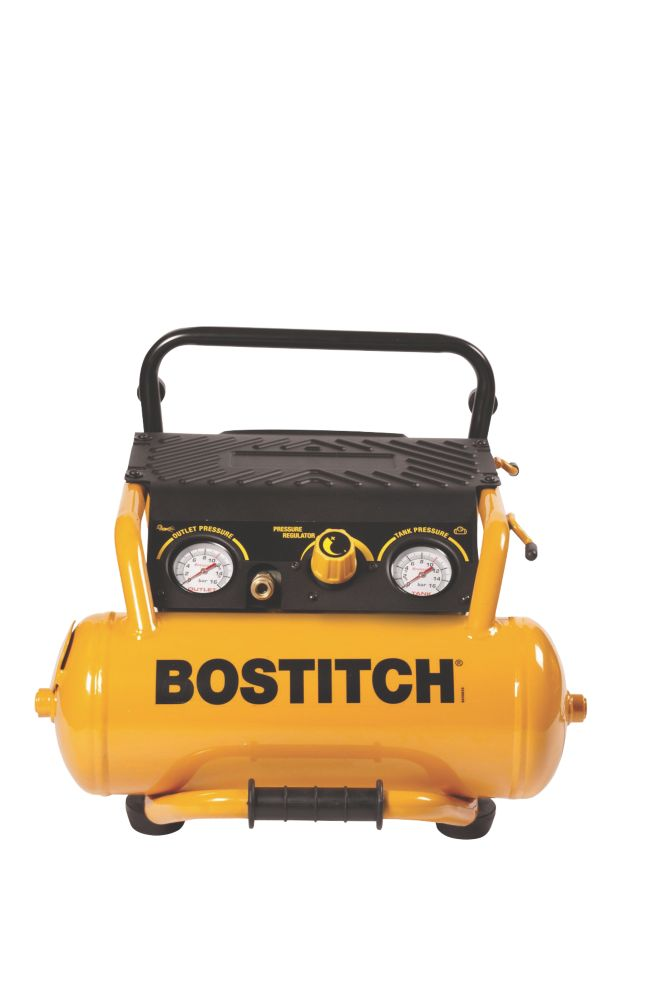 Stanley Bostitch RC-10-U 10Ltr Roll Cage Air Compressor 110V