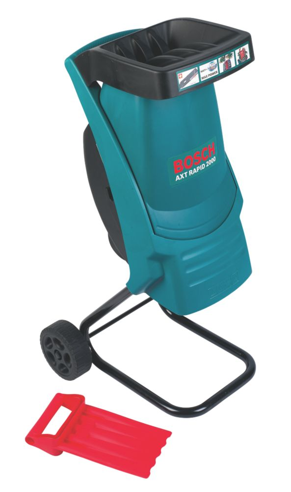 Bosch AXT Rapid 2000W 80kg/hr Electric Garden Shredder 230V
