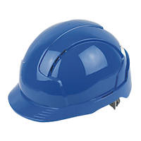 JSP EVOLite Printed Safety Helmets Blue 10 Pack