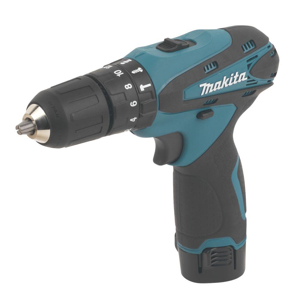 Makita HP330DWE 10.8V 1.3Ah Li-Ion Cordless Combi Drill