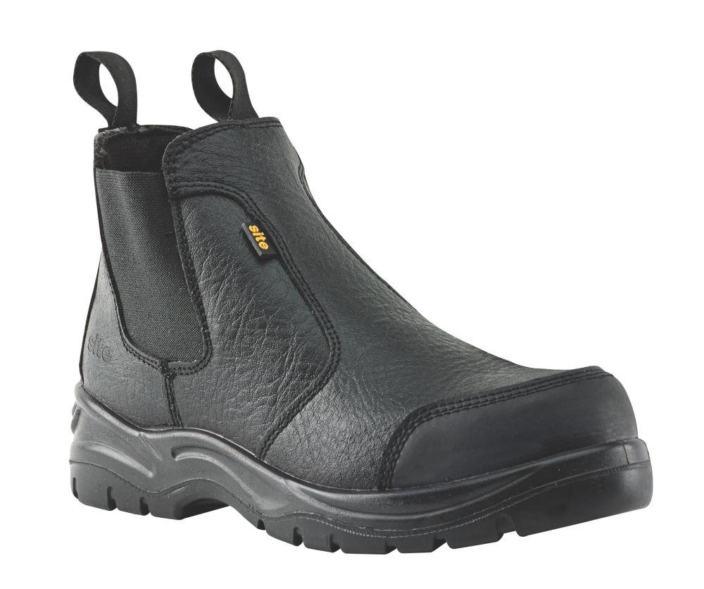 Site Scoria Chelsea Safety Boots Black Size 9