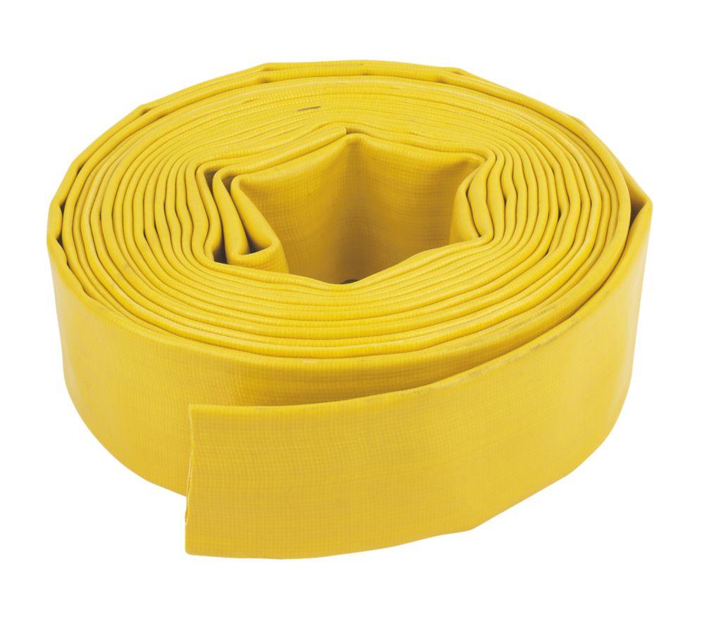 "Layflat Hose Yellow 10m x 2"" (51mm)"