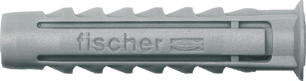 Fischer SX Nylon Plugs 6mm Pack of 100