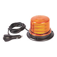 Ring Amber Magnetic Compact Amber LED Beacon 18W 96mm