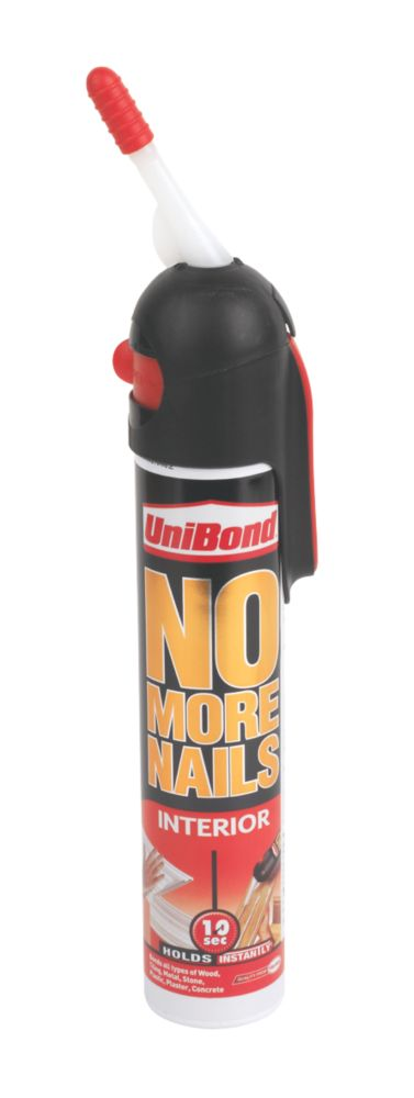 UniBond No More Nails Original Grab Adhesive Kiwi Pack White 200ml