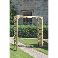 Grange Urban Garden Arch Natural 1.8 x 0.6 x 2.4m