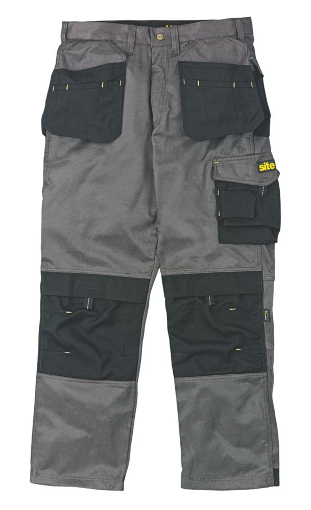 "Site Retriever Trousers Dark Grey 34"" W 32"" L"