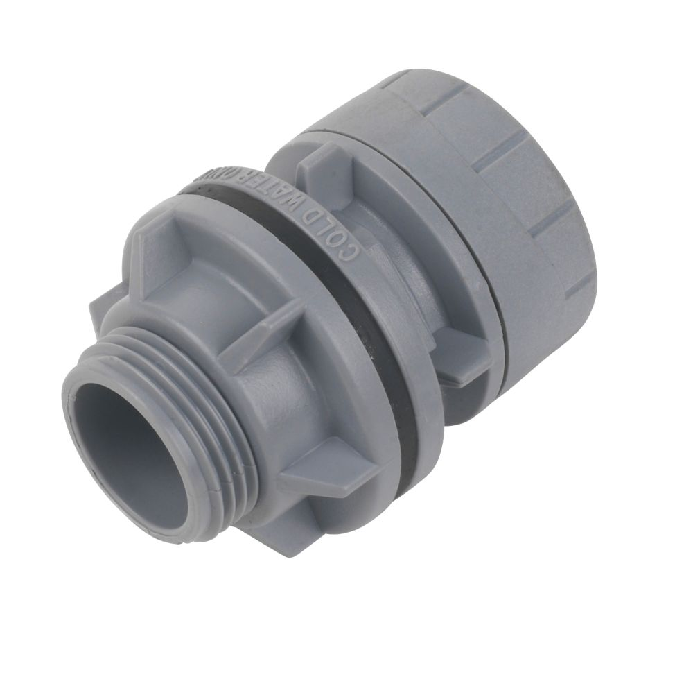 Polyplumb 22mm x 3/4in Tank connector