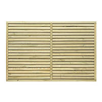 Grange Contemporary Fence Panel 1.8 x 1.2m 4 Pack