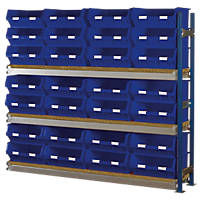 Toprax Longspan Extension Bay Blue 1780 x 328 x 1500mm