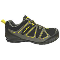 Goodyear GYSHU1509 Safety Trainers Black / Grey Size 7