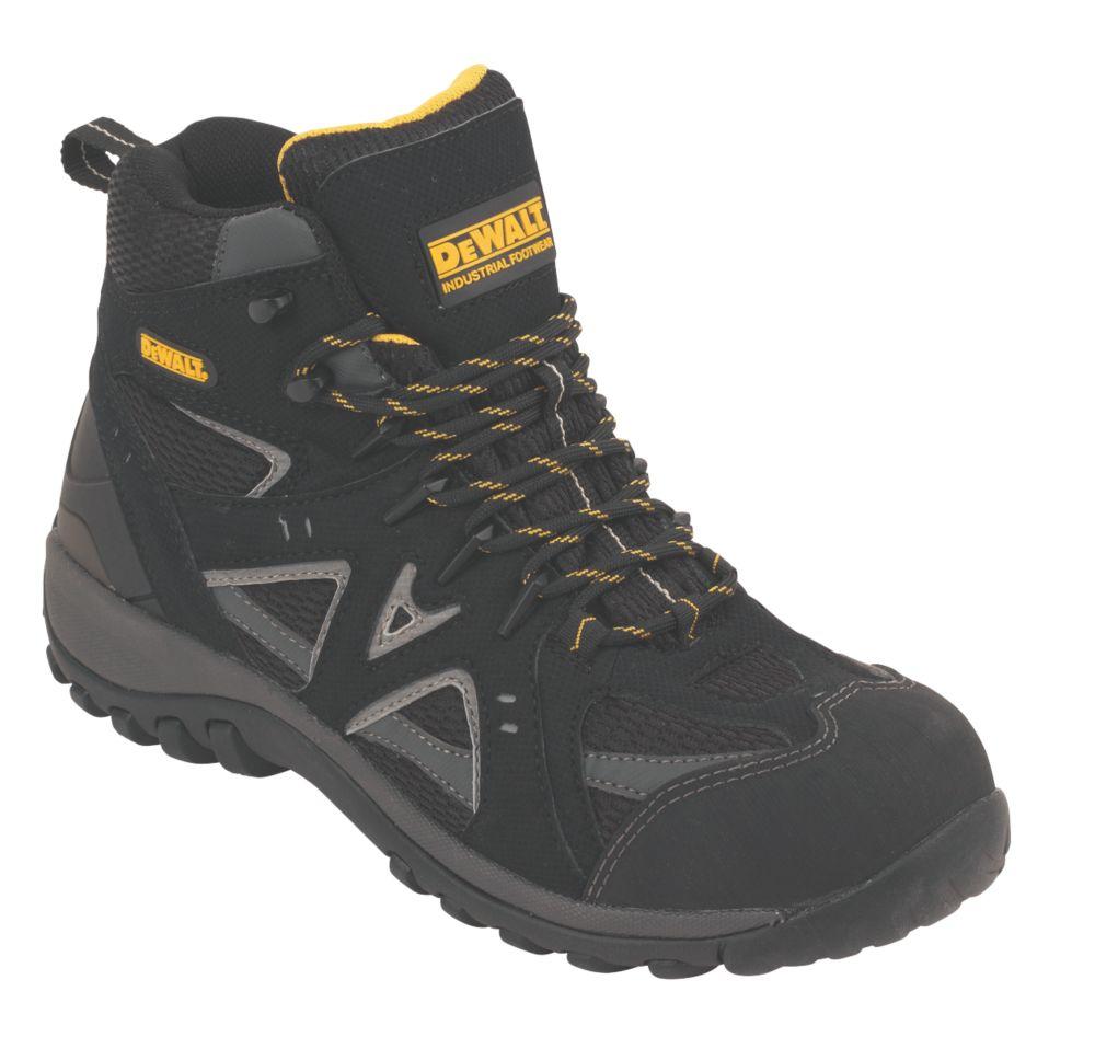 DeWalt Driver Safety Boots Black Size 8