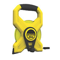 Stanley Open Reel Long Tape Measure 30m/100' x 12mm
