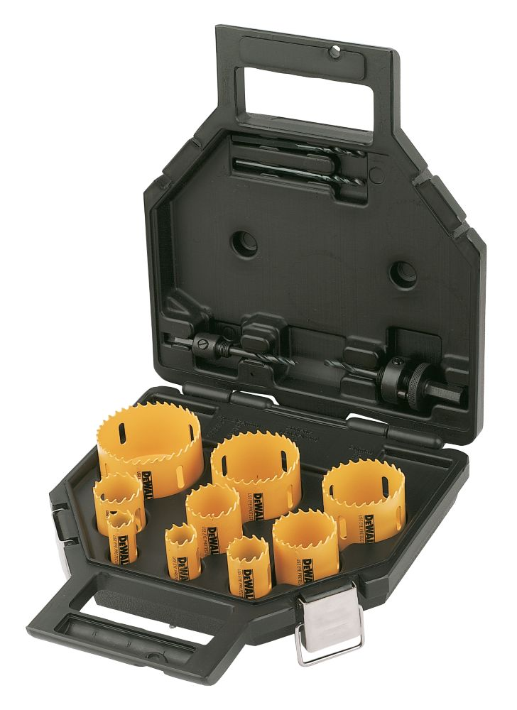 DeWalt Plumbers Holesaw Kit 13 Pieces