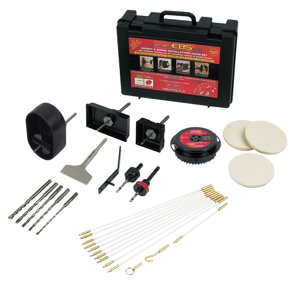 Armeg Complete Electricians Installation Kit