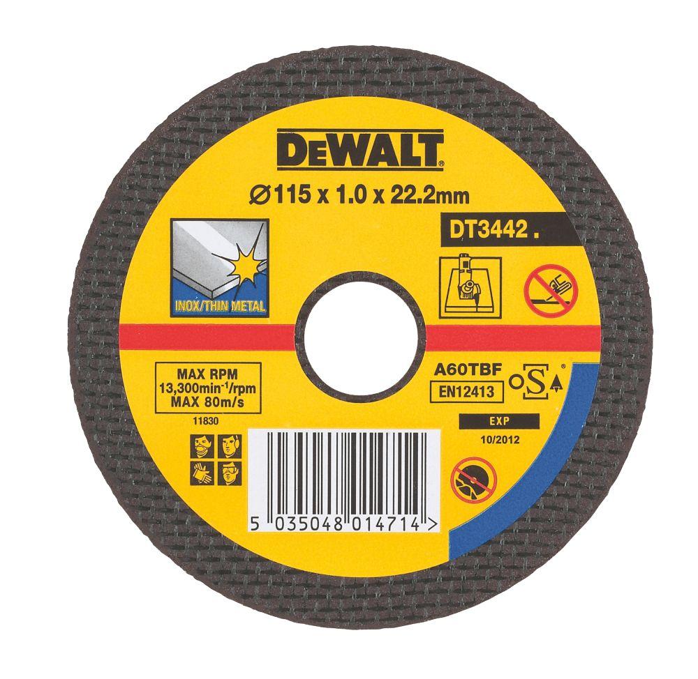 Dewalt DT3503-QZ Cutting & Grinding Discs Pack of 10