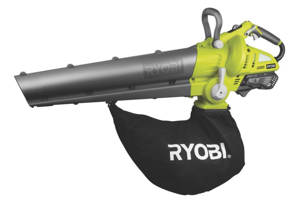 Ryobi RBL30MVA 1hp 30cc 2-Stroke Petrol Mulching Blower & Vacuum
