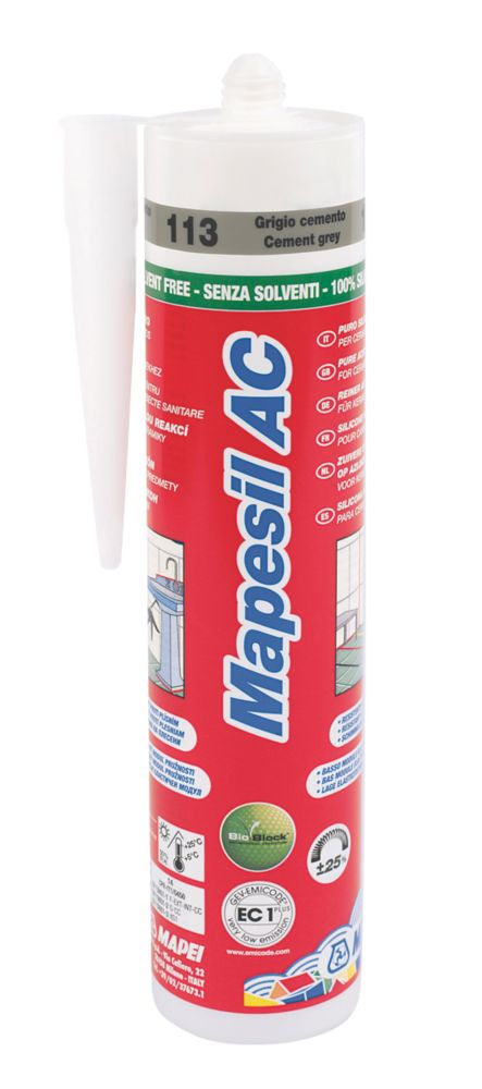 Mapesil Sealant Cement Grey 310ml