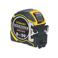 Stanley FatMax Auto-Lock Tape Measure 8m