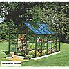 "DIY Doctor: Screwfix: Buy tools: Halls Popular Greenhouse Green Toughened Glass 10' 6"" x 5' 10"" x 6' 3"