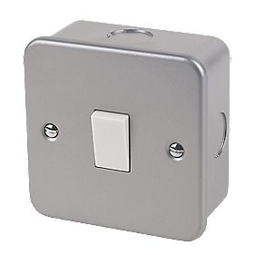 1 Gang 2 Way Switch Metal Clad