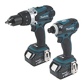 Makita DLX2005M 18V 4Ah Li-Ion Cordless Twin Pack