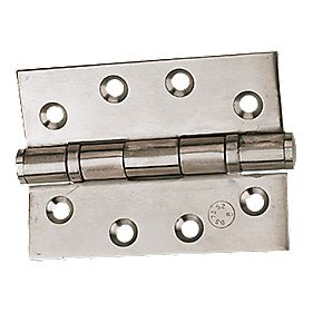 Eclipse Grade 11 Ball Bearing Hinges Polished Stainless Steel 102x76mm Pk2