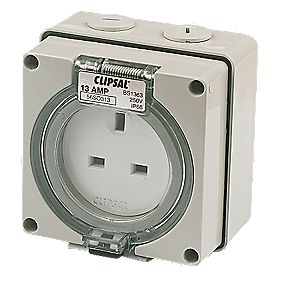 Clipsal 56 Series IP66 Skt Outlet