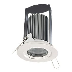 British General Fire Rated Fixed LED Downlight IP65 White 7W