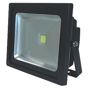 Unbranded LED Floodlight 50W Black