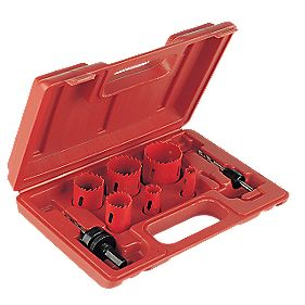 Plumbers Holesaw Kit 6 Pieces