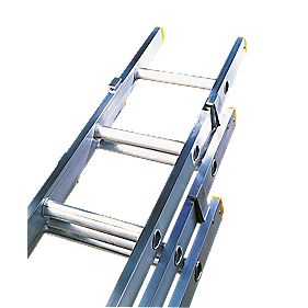 Lyte Trade ELT335 Triple Extension Ladder 12 Rungs Max. Height 8.46m