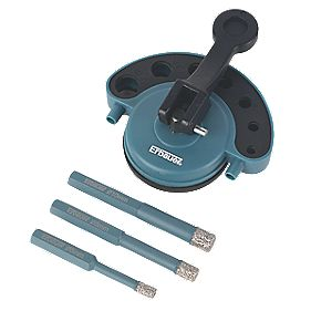 Erbauer Diamond Tile Drill Set 4Pcs