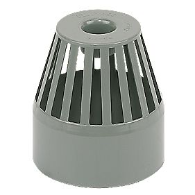 End Vent Terminal Grey