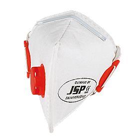 JSP Fold Flat Dust Mask Valve P3
