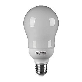 Sylvania GLS Compact Fluorescent Lamp ES 20W