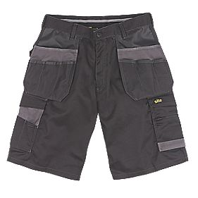 "Site Hound Multi-Pocket Shorts Black 30"" W"