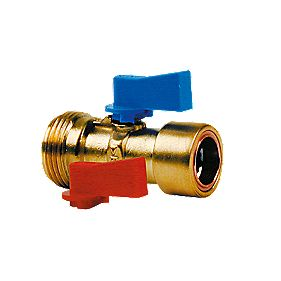 Conex Cuprofit Washing Machine Valve 15mm x ¾""