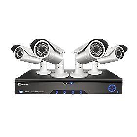 Swann HDR4-8200 4-Channel CCTV DVR Kit & 4 Cameras