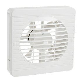 "Manrose XF150BS 25W 6"" Ceiling / Wall-Mounted Kitchen Fan"
