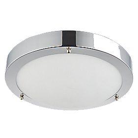 portico led bathroom ceiling light chrome 9w bathroom ceiling lights