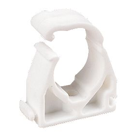 Snap Lid Pipe Clip 22mm Pack of 100